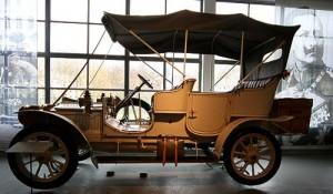 Automobile Welt Eisenach - ein Dixi, sehr früher BMW-Vorläufer