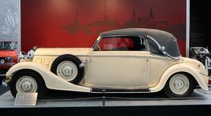 Klassische Automobile im Verkehrsmuseum Dresden
