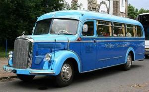 Historische Nutzfahrzeuge – Busse, LKW, Transporter