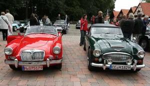 MGA und Austin Healey 3000 MK III - Oldtimer-Träume