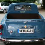 Borgward Isabella Pickup - Exportausführung mit Ladefläche