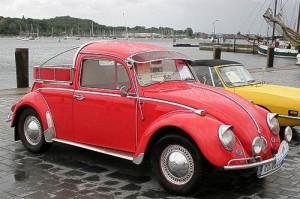Volkswagen Käfer in seltener Pick-Up Ausführung - Baujahr 1968