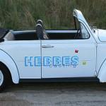 VW Käfer Cabrio – mit nachträglich entferntem Dach