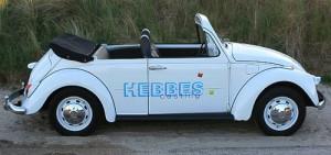 VW Käfer Cabrio - mit nachträglich entferntem Dach