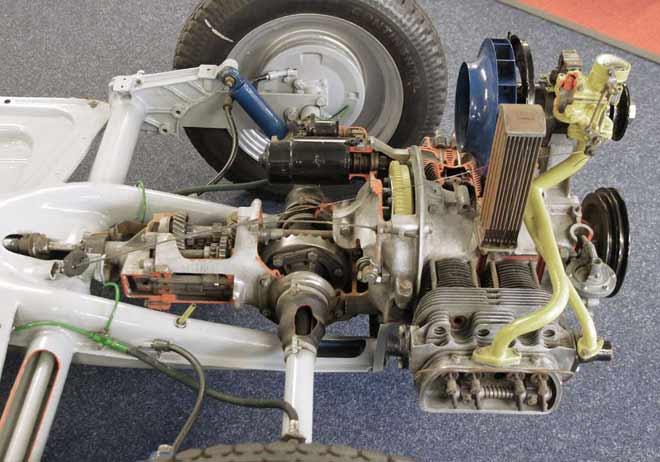 VW-Käfer-Motor