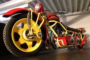 Alte Motorräder
