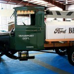 Ford T-Modell als Tankwagen