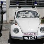 VW Käfer der Gendarmerie in Kärnten, Österreich