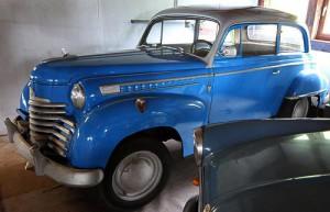 Opel Olympia - Baujahr 1952 - Automuseum Erlebnispark Ziegenhagen