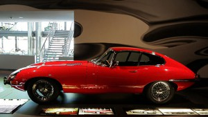 Prominent ausgestellt im Zeithaus der Autostadt - Jaguar E-Type