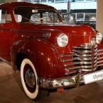 Opel Olympia, Baujahr 1952 im Opel-Forum Rüsselsheim