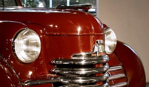 Nostalgische Front des Opel Olympia - Oldtimers