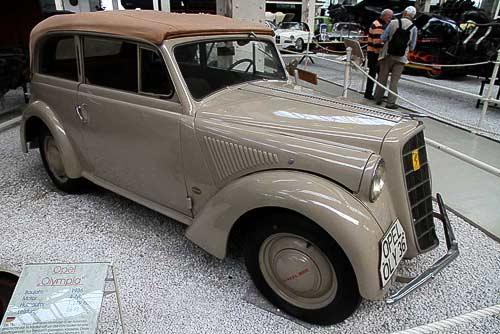 Opel Olympia - Baujahr 1936 - im Technikmuseum Speyer