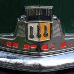 Das Emblem des Opel Olypia – Baujahr 1952