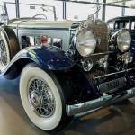 16-Zylinder Cadillac, Baujahr 1930 - im Zeithaus der Autostadt Wolfsburg