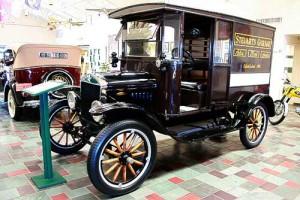 Ford T - als Lieferfahrzeug