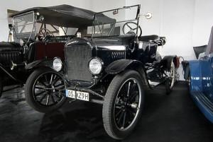 Ford T Tunabout, Baujahr 1924, im Automuseum Melle ausgesteltl.