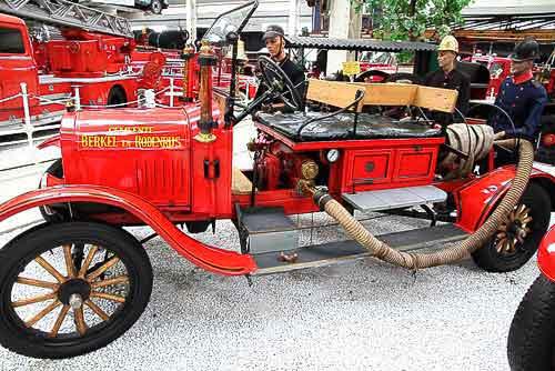 Ford T als Feuerwehrfahrzeug