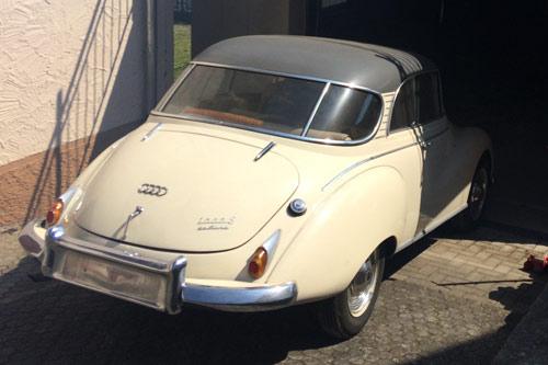 Auto Union 1000 S - Udo Kraus