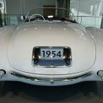 Geschwungenes Design – Heckansicht der ersten Corvette