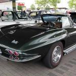 Macht auch von hinten eine echt gute Figur - die Chevrolet Corvette Sting Ray