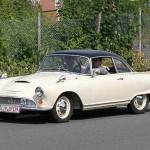Mit richtigen Heckflossen á la Cadillac – der Auto Union 1000 Sp
