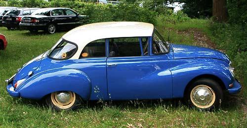 Auto Union 1000 S - beliebter Oldtimer mit Zweitakt-Motor