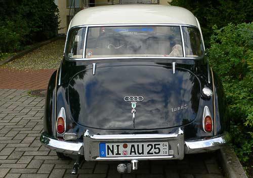 Auto Union 1000 S - auch von hinten mit guter Figur!