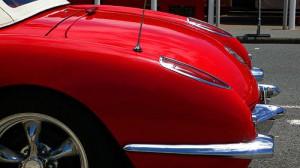 Die geschwungene der Corvette C 1 Convertible - Baujahr 1958