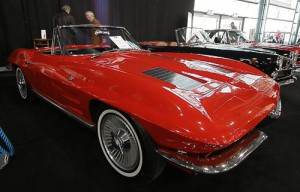 Dier erste Sting Ray - Chevrolet Corvette C 2 - Baujahr 1963