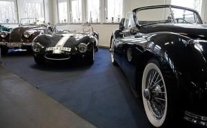 Britische Roadster und Coupés - Kultautos im Automuseum Melle
