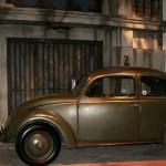 Beginn der Volkswagen-Käfer Produktion