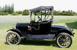Ford T, liebevoll 'Tin Lizzy' genannt - erstes Fließband-Auto der Welt