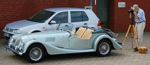 Morgan Plus 8 - klassischer britischer Roadster