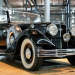 Horch 851 - Blickfang in der VW-Phaeton-Produktion