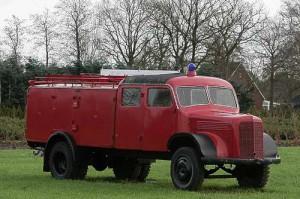 TLF 15 in Omnibusbauform - LF 3500 in Jever - Baujahr 1952