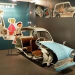 Anschaungsmodell – ein aufgeschnittener Sachsenring Trabant
