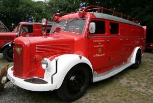 TLF 15 der Freiwilligen Feuerwehr Scheeßel, Baujahr 1952