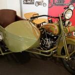 Harley-Davidson Gespann von 1927 im Motorradmuseum Augustusburg