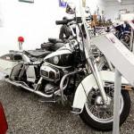 Harley-Davidson FLH Police – war in Mexico im Einsatz