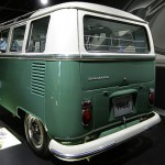 VW 'Sambabus' Heckansicht im Zeithaus der Autostadt Wolfsburg