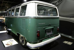 'Sambabus' - Baujahr 1966 - Heckansicht
