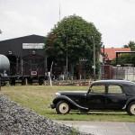 Oldtimer trifft Museums-Eisenbahn in Bruchhausen-Vilsen