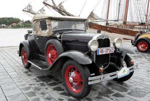 Ford A - zur 10. Eckernförde Classics am Eckernförder Hafen
