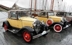 Dänische Ford A - Oldtimerfreunde in Eckernförde