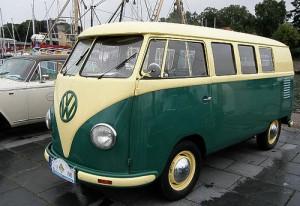 Volkswagen Bus T 1 - am Eckernförder Hafen