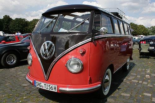 VW-Sambabus - auf der Street Mag Show Hannover 2011