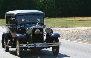 Ford A - Oldtimer bei Rehburg-Loccum in Niedersachsen unterwegs