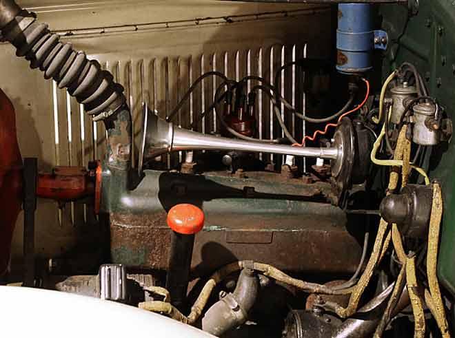 Ford Model A - der Motor