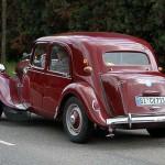 Citroen Traction Avant - zur Abwechslung mal in Rot!